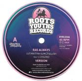 Lutan Fyah & McPullish meets Chazbo - Ras Always / version (Roots Youths) 12""